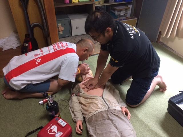 2017年緊急対処訓練実施しました