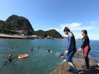 青い海・・・素晴らしい!!@雲見[2]