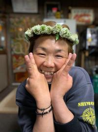 可愛いお花の冠[3]