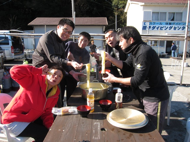 ウミウシとスケロクウミタケハゼとラーメン@田子[6]
