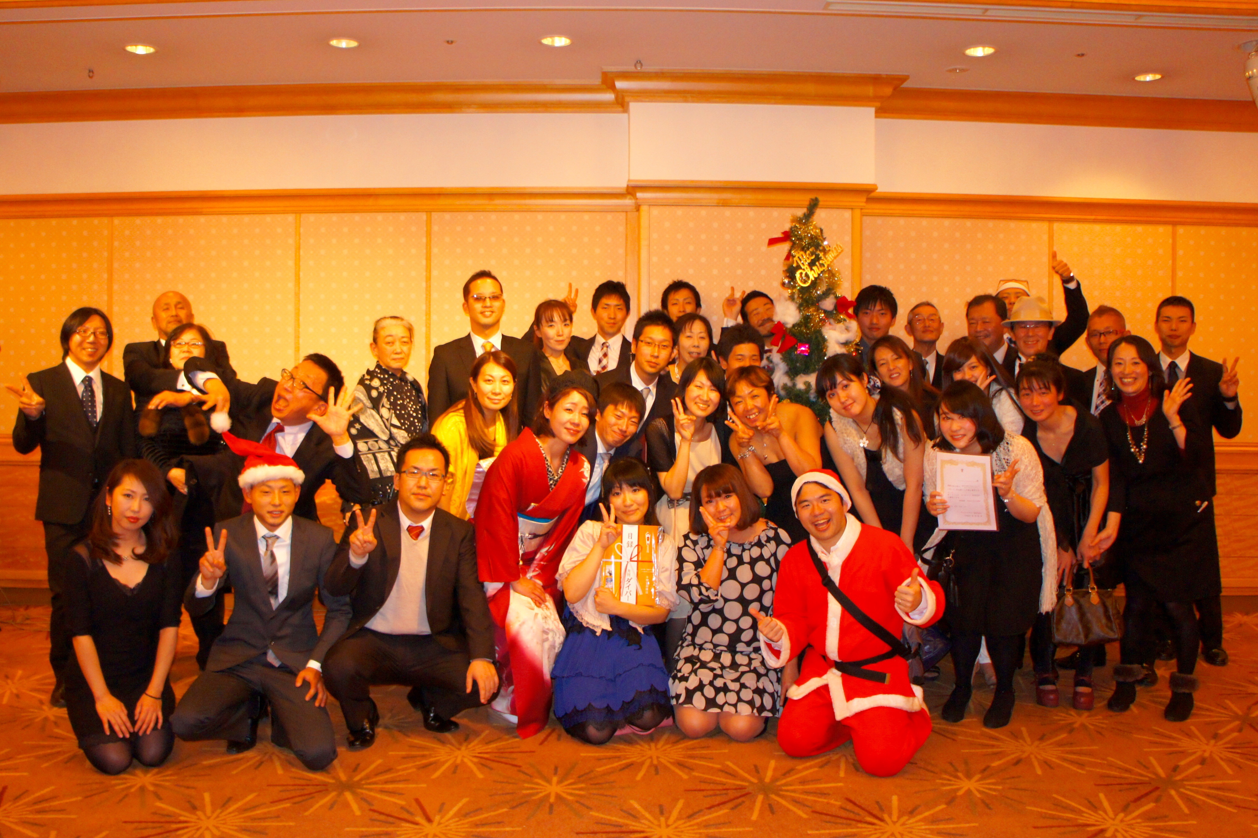 メリークリスマス( ´ ▽ ` )ノクリスマスパーティ@帝国ホテル[1]